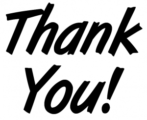 Thank You – and have fun storming the castle!