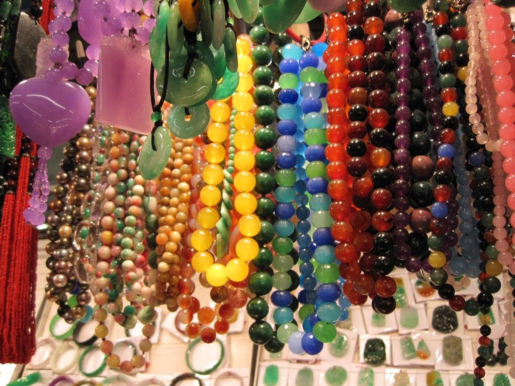 Perlen zum geifen nah