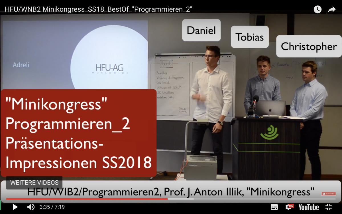Minikongress SS2018 Programmieren_2
